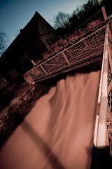 Urzy # Soire du 30 Mars 2010 (autistic X kid ) Tags: longexposure france water eau nuit barrage urzy poselongue nivre retenu