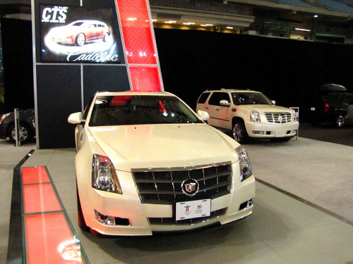 Cadillac CTS 2011 at Vancouver International Auto Show