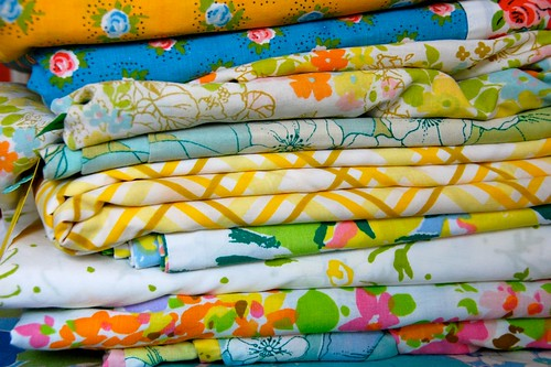 thrifted: vintage sheeting