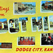 Greetings from Boot Hill, Dodge City, Kansas - Large Letter Postcard