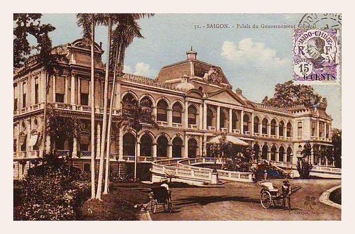 INDOCHINE-SAIGON -- Palais du Gouverneur General