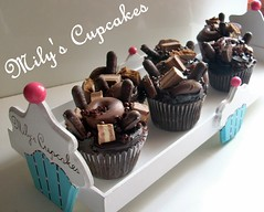 I Love Chocolate♥ (Mily'sCupcakes) Tags: love cupcakes chocolate donuts marroc milys i chocolate♥