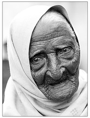 Very old lady form India (FKHansen) Tags: old woman india lady elderly