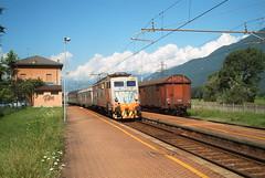 E646 165 (fotolab treni) Tags: treno fs trenitalia ferrovia sondrio 646 passeggeri tirano diretto e646 cosio