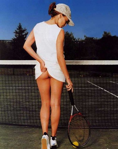 And Kylie minogue tennis girl was