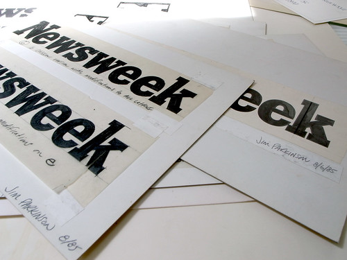 newsweek magazine logo. Newsweek Logo Process - Jim