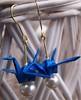 Blue Crane Earrings