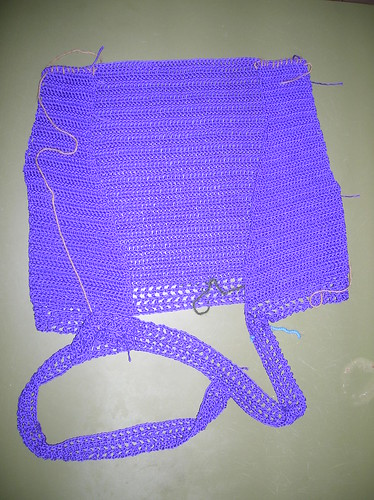 Croche V-top... making of