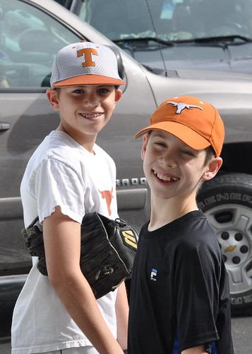 Benton and Jack and UT Baseball