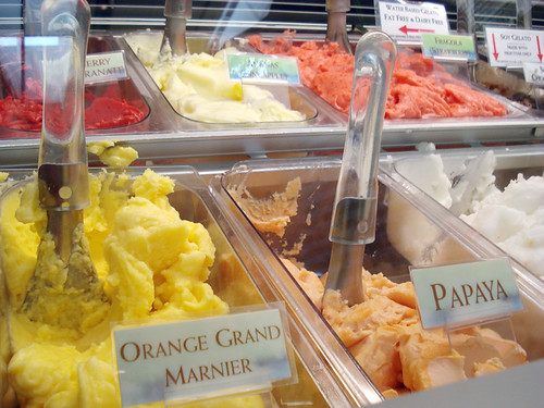 Paciugo gelato flavors