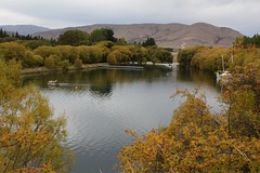 Calm Spot (Tones Corner) Tags: autumn reflection rosehip lakebenmore nzscene
