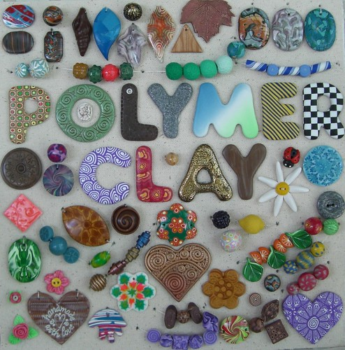 Display for Polymer Clay Class