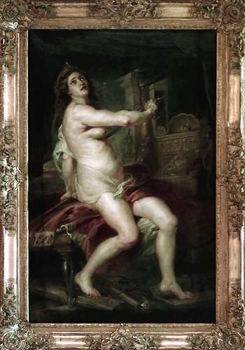 La mort de Didon de Rubens