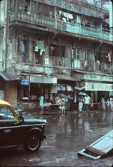 Mumbai's Falkland Road: a stall
