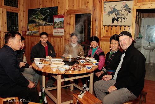 Yao Christmas Dinner, Huang Luo