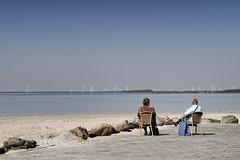 Overlooking Turbines (Danny Roodbol) Tags: people beach water nikon nikkor dolfinarium harderwijk openwater 2470mm f28g d3s