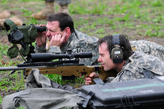 NASCAR driver Jeff Gordon shoots sniper rifle ...