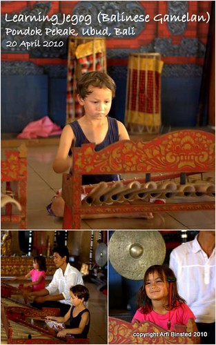 Learning Jegog-Balinese Gamelan by ab2010