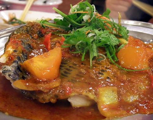 Tilapia in Assam Sauce
