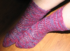 Twisted Rib socks