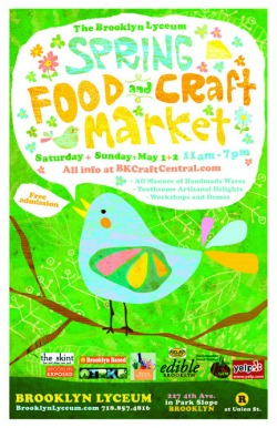 Spring Food & Craft May 1st and 2nd
