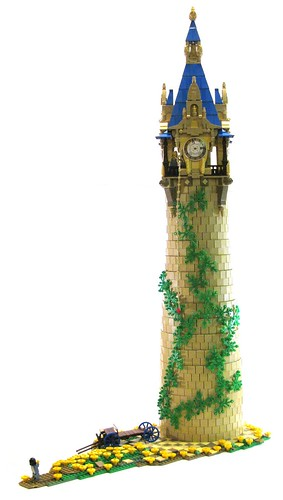Rapunzel's Tower by Jordan Schwartz