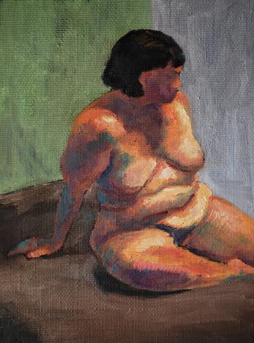 20100420 figure study 9x12