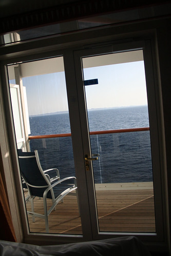 Carnival Spirit - Extended Balcony from Cabin (again)