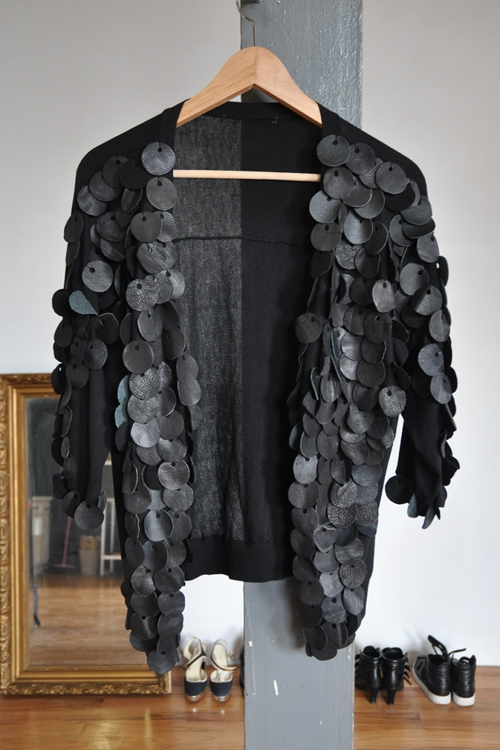 Phosphene DIY leather paillettes top 3