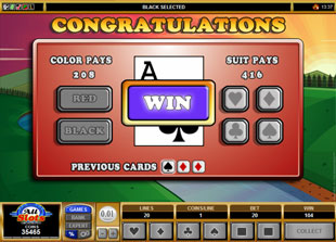 free Lumber Cats gamble bonus game