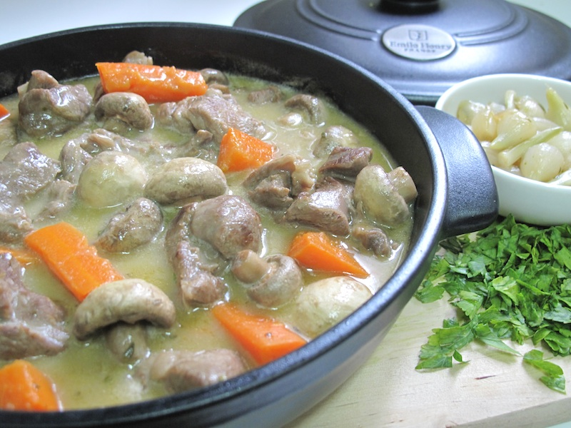 Mia Blanquette Of Lamb In French Traditional Style Blanquette D