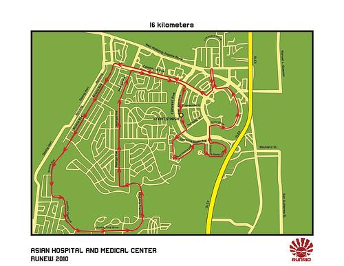 Runew 2010 - 16K Race Map