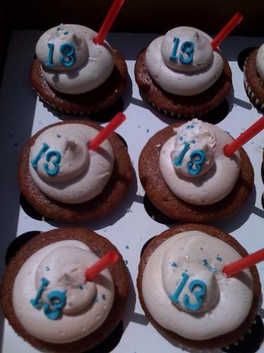 Rootbeer cupcakes
