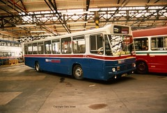 1057 C57 HOM (onthebeast) Tags: travel west bus green buses station volvo garage wm service midlands wolverhampton wmt acocks