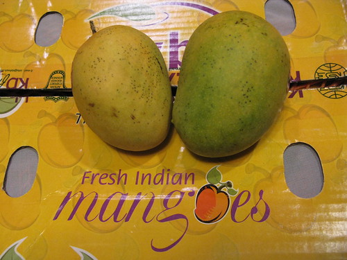 Indian Kesar mangoes