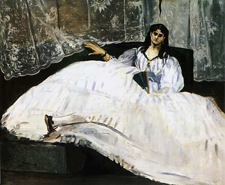 Baudelaire's Mistress, Reclining, Edouard Manet