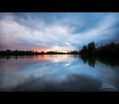 Lake Salish (Jesse Estes) Tags: sunset oregon coast stormy gresham 5d2 lakesalish jesseestesphotography