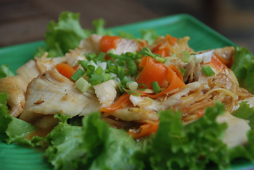 Stir fried river fish