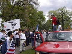 Video of a rally on International Workers Day in Minneapolis (Fibonacci Blue) Tags: minnesota may day international worker march rally sb1070 arizona law border seiu puede raid ice deport please illegal alien socialist socialism license work nation naturalization rallies rallying twincities video movie naturalize inmigrante inmigración spring sign signs signage message driver paper right activism deportation activist families family immigrant immigration mexico mexican migrant mpls minneapolis political politics protest protesting protester