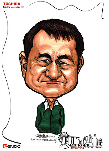 Caricature of CS Tong