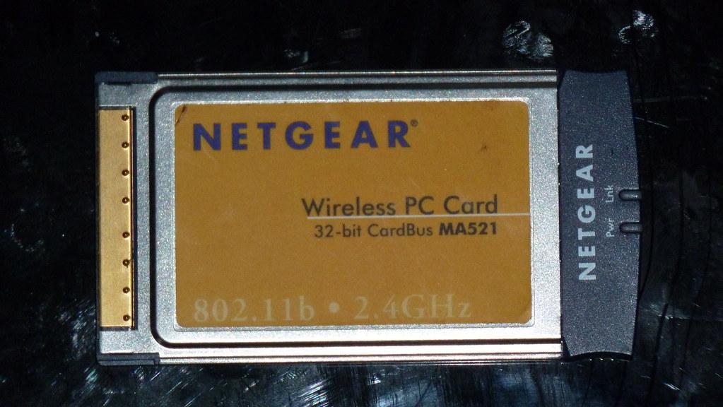 Wireless NETGEAR Notebook card