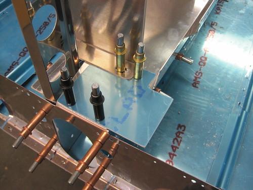 Airframe Ground Bracket Bolt Holes Drilled