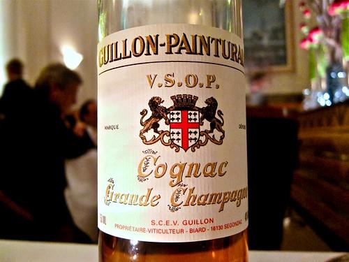 Digestif: Guillon-Painturaud Cognac V.S.O.P.