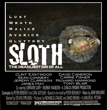SLOTH: THE DEADLIEST OF SINS