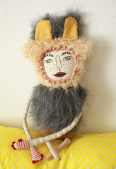 Nestor Von Racletten (super ninon) Tags: toy screenprint handmade plush softies ninon collaboration arttoy leraclet