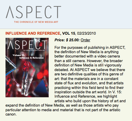 Aspect 15: Influence and Reference