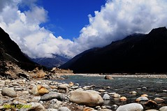 Yumthang Valley( )...North Sikkim (Saibal~M) Tags: panorama india mountain valley himalaya sikkim teesta yumthang yumthangvalley saibalm