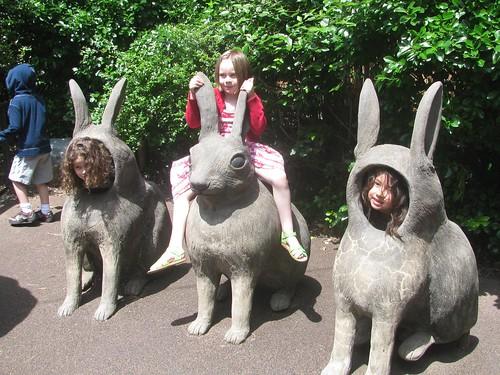Girls as Rabbits
