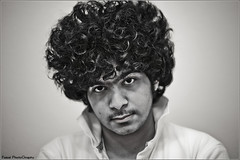 Portrait (Faisal AlKhudairy \   ) Tags: portrait white black canon photography 50mm focus l usm 18 f28 f4 faisal faris      1855m 70200m  400d       alkhudairy
