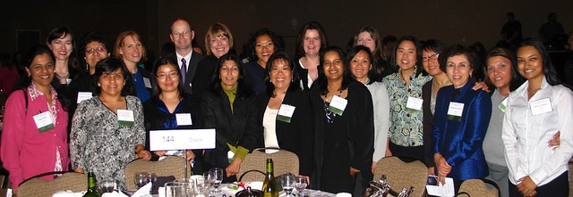 Oracle Employees at Women of Vision 2010
